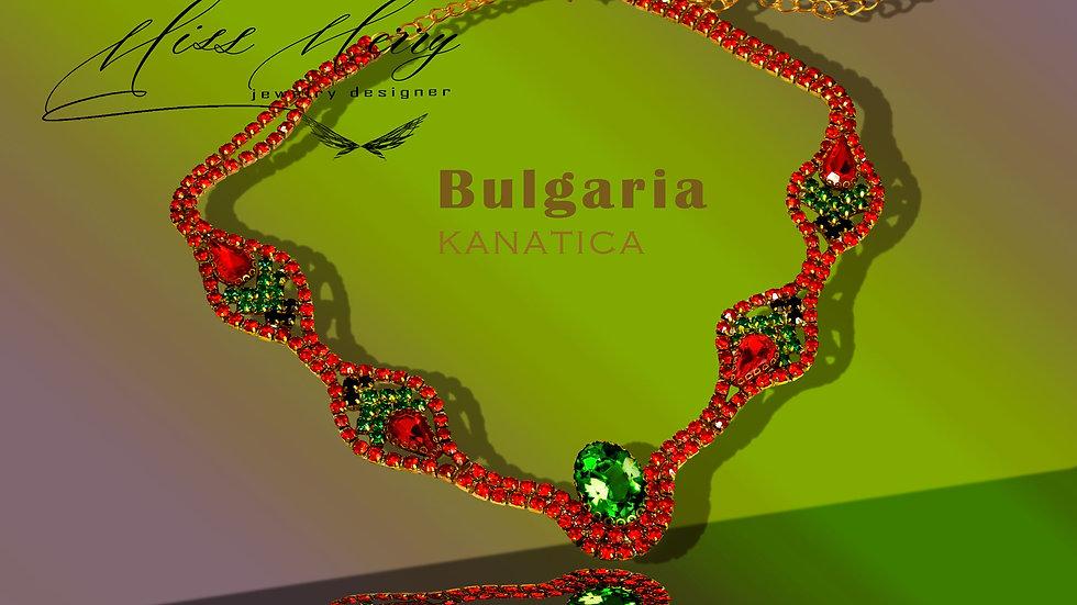 Unique Ethno Necklace Kanatica