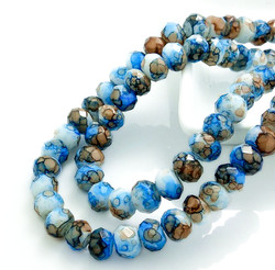 Rondelle Austria Faceted Crystal Glass Beads