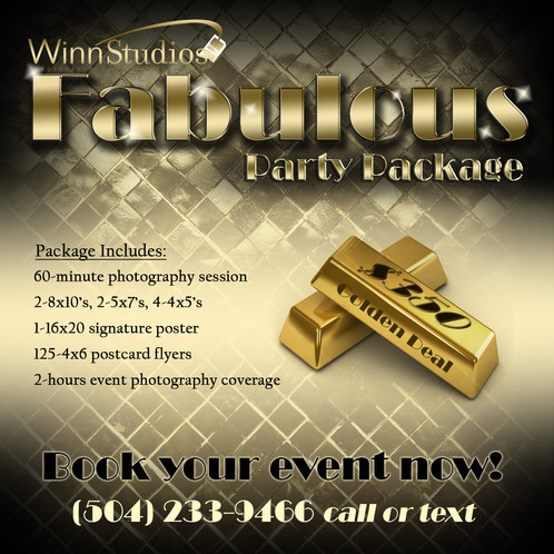 fabulous party package