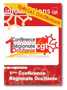 Première conférence régionale CGT Occitanie