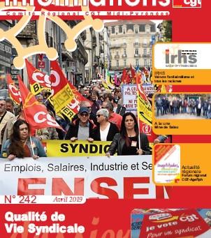 Le journal de la CGT Occitanie (avril 2019)