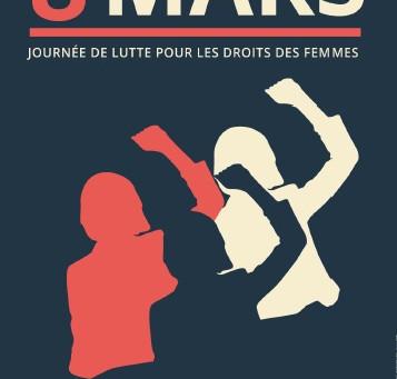 Nous appelons à l'action et à la grève pour les droits des femmes le 8 mars