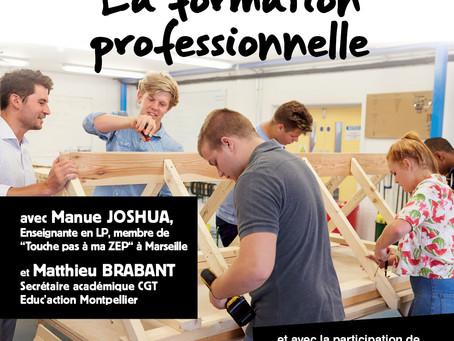 Débat public sur l'enseignement professionnel