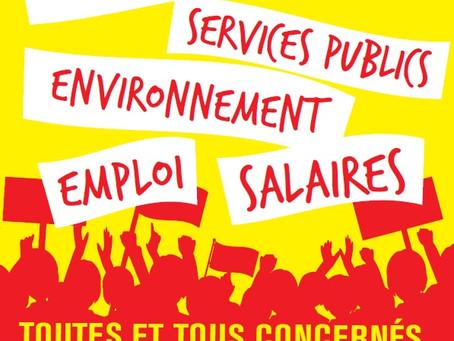 Jeudi 5 décembre : toutes et tous en grève et dans l'action !