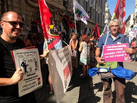 La CGT Educ'action mobilisée pour défendre la voie professionnelle des lycées !