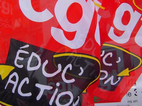Le nouveau site internet de la CGT Educ'action Montpellier
