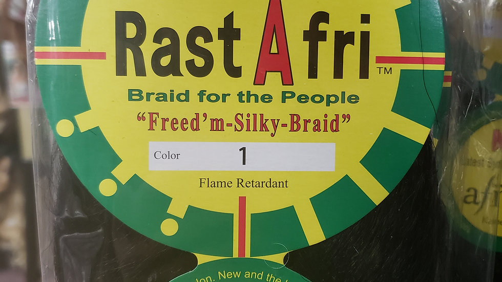 RastAfri Freed'm Silky Braid Hair