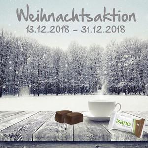 Weihnachtsaktion 10-iSANO-Riegel Gratis nur bis ende des Jahres!