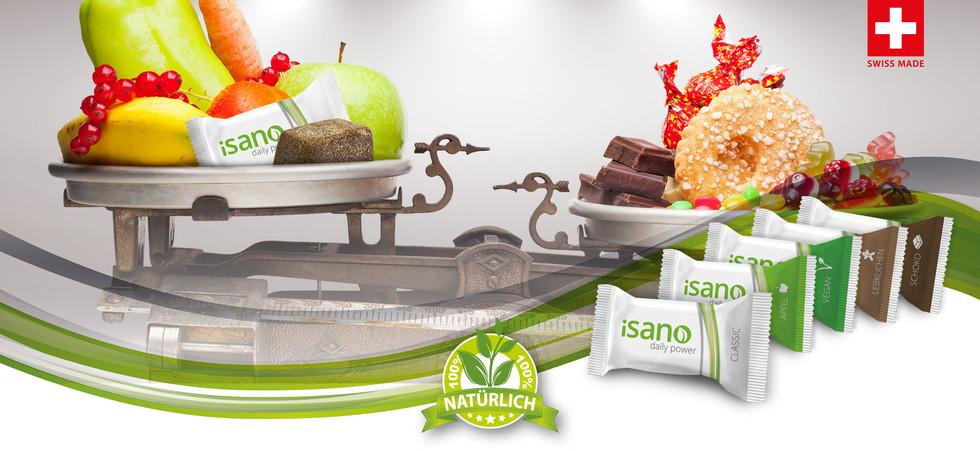 Mit Isano isst du immer was gesundes!