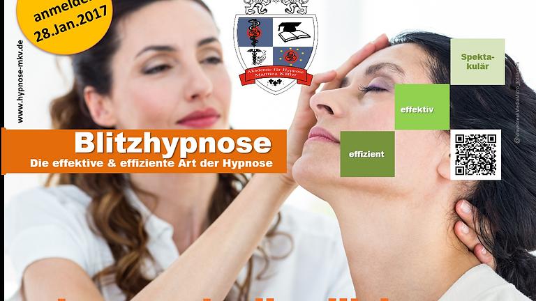 Blitzhypnose Seminar