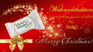 iSANO Weihnachtsaktion - hole Dir Deine 10 extra Riegel im Wert von 24,-€