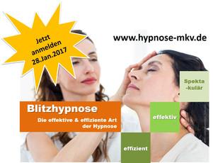 Blitzhypnose Seminar jetzt anmelden!