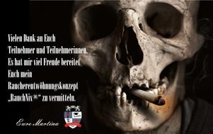 """Seminar an der Paracelsus Schule Köln """"RauchNix"""" das Raucherentwöhnungskonzept von Martina"""
