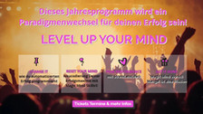 LEVEL UP YOUR MIND für Dein Business