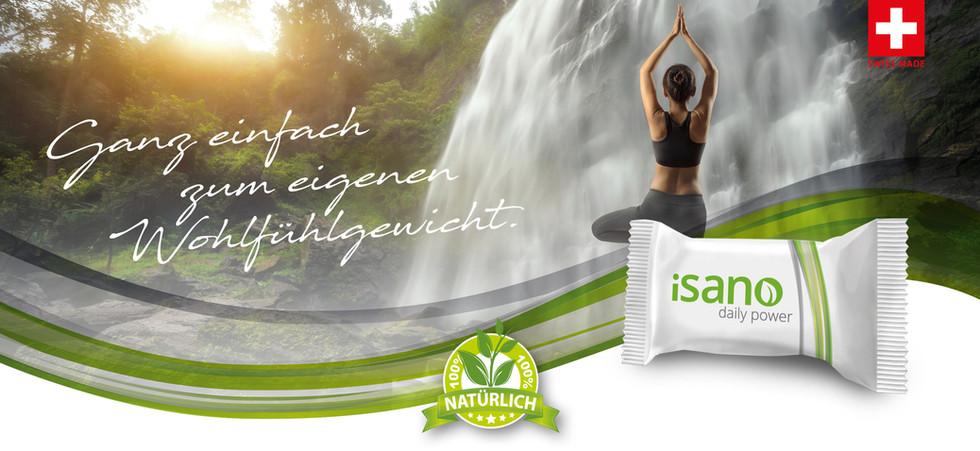 Abnehmen mit Isano funktioniert ohne Hunger und ohne Muskelverlust.