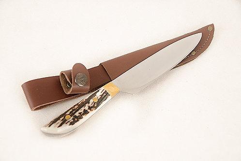 2 pins' stag horn knife. CUCH 08.