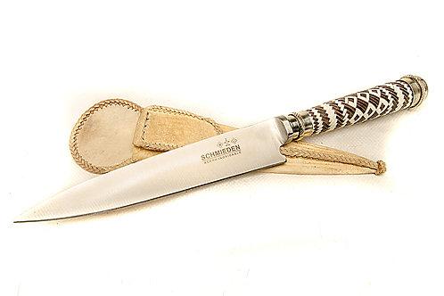 Cuchillo tejido a mano con 'mango de alpaca'. CUCH 27