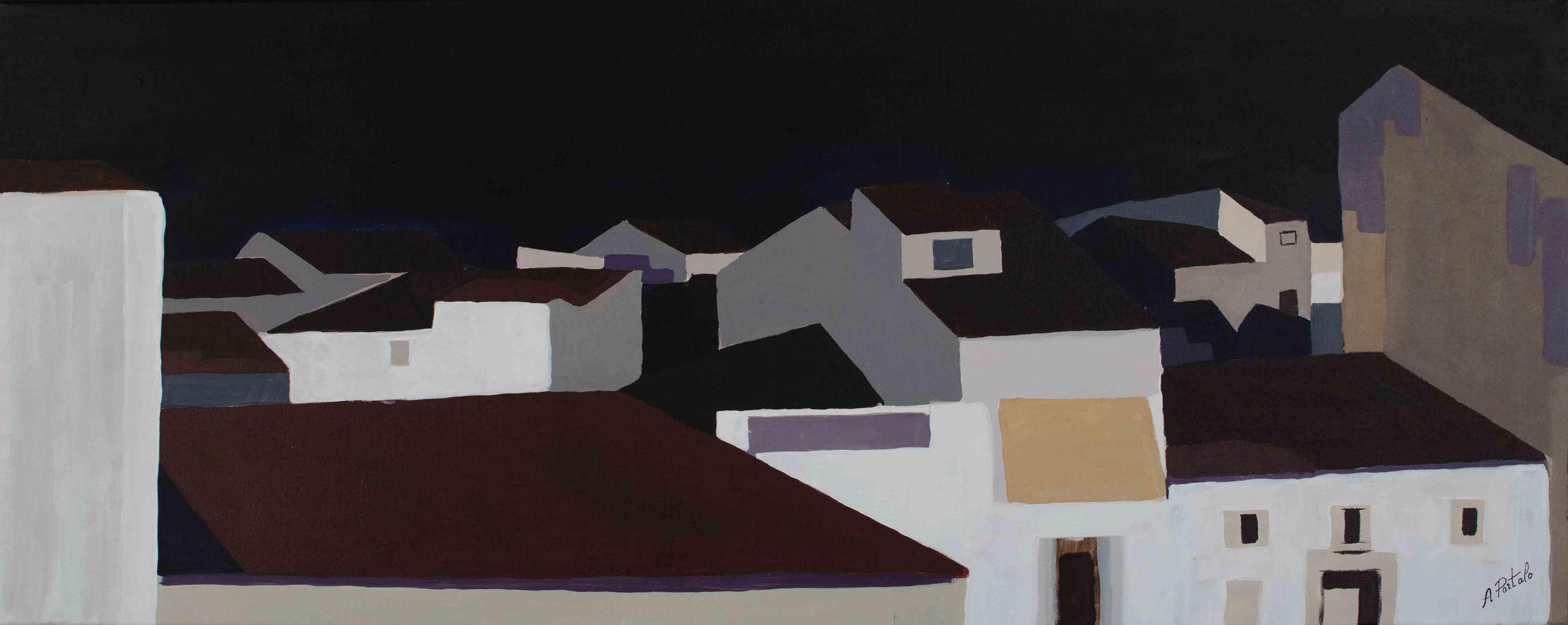 Noche en los tejados