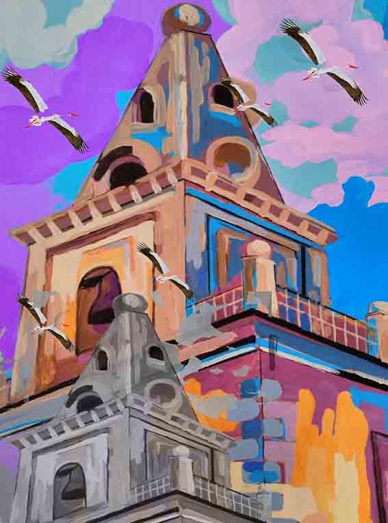Iglesia-cigueñas