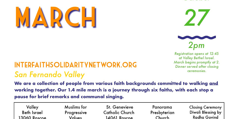 3rd Annual Interfaith Solidarity March