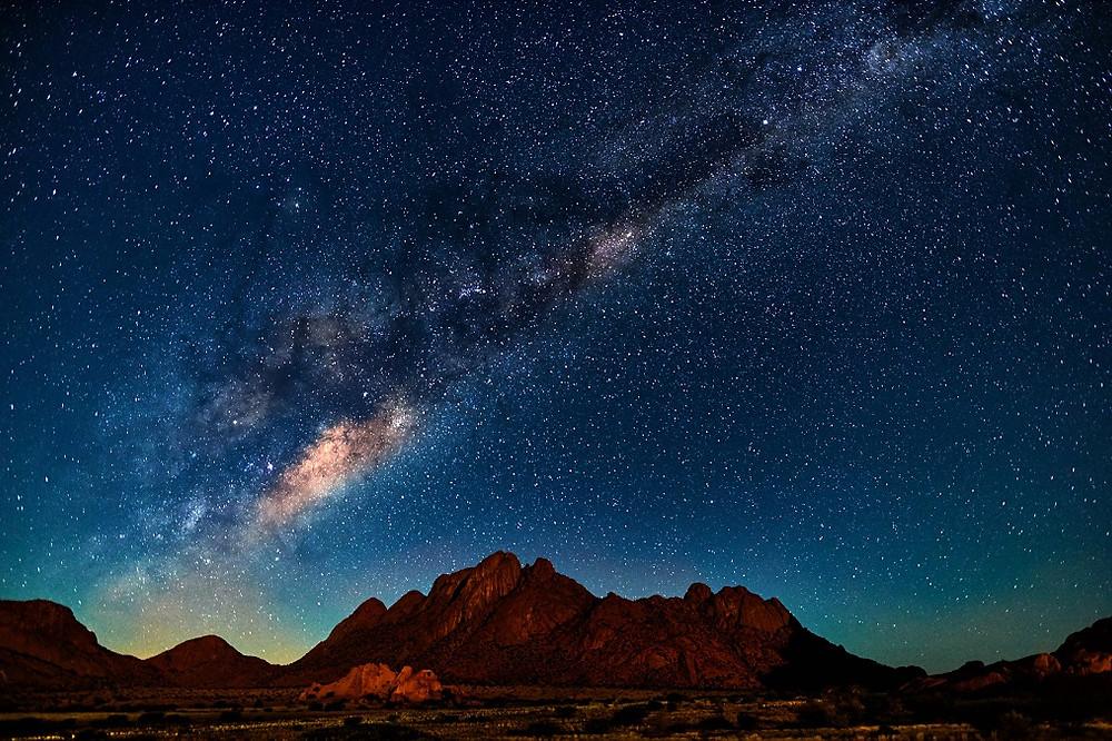 stargazing at Spitzkoppe