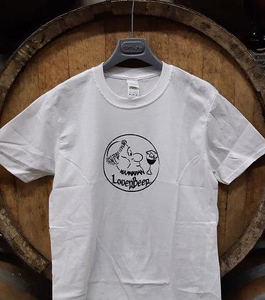 Maglietta LoverBeer bianca