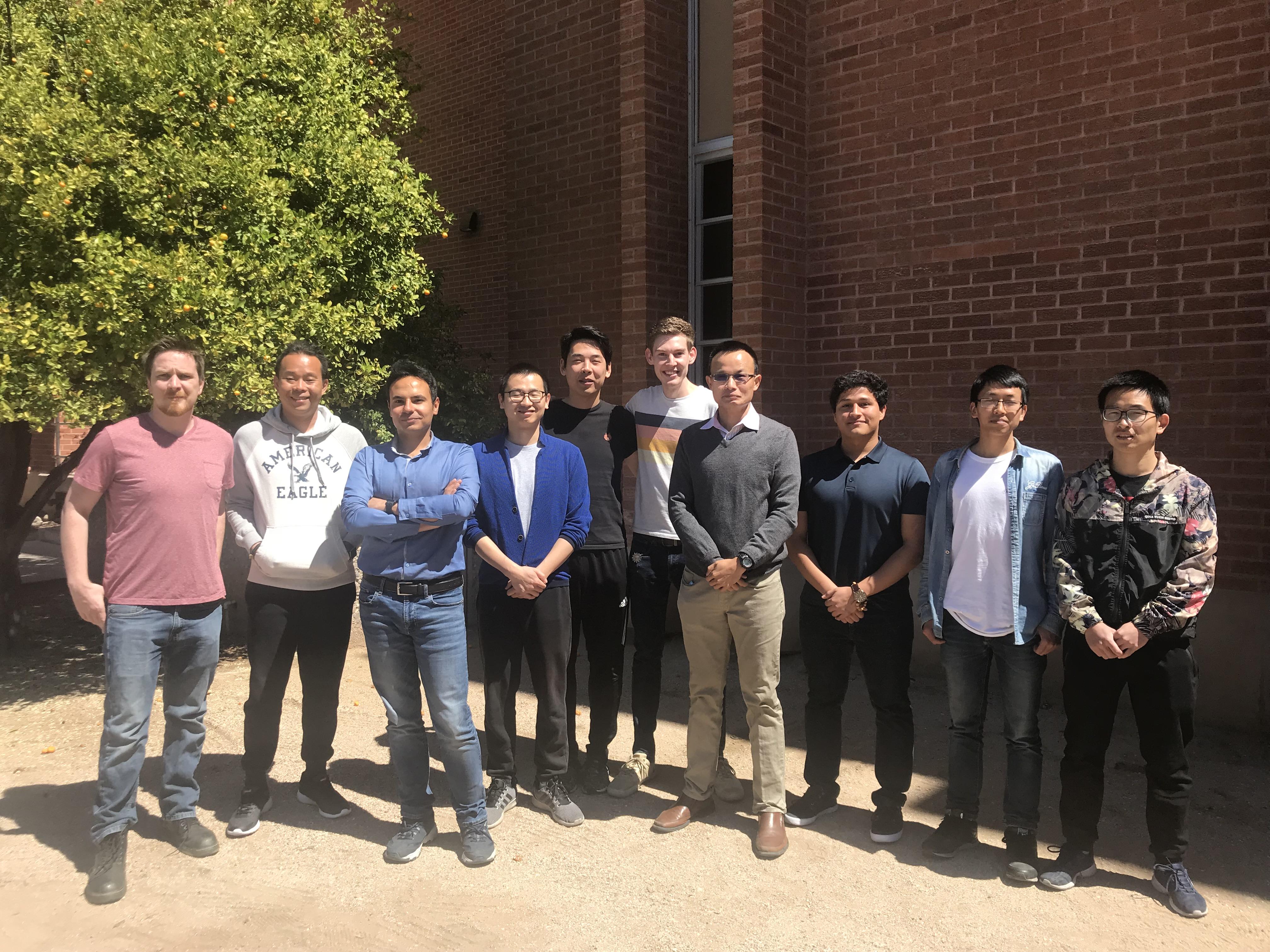 STL Lab Members Spring 2019