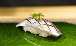 Makrell med ingefær og vårløk