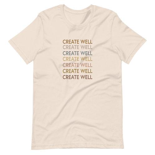 Create Well Podcast Original Shirt