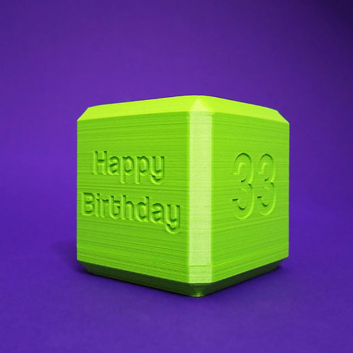 "Labyrinthwürfel ""Happy Birthday & [Alter]"""