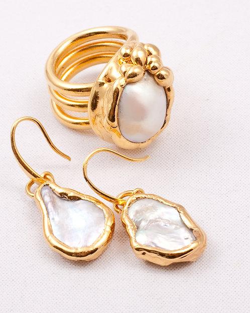 Completo PIETRA - perla bianca
