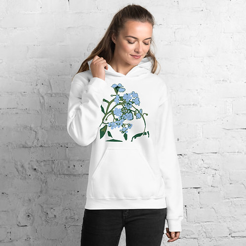 THE NORTH HOODIE - Forget-Me-Not