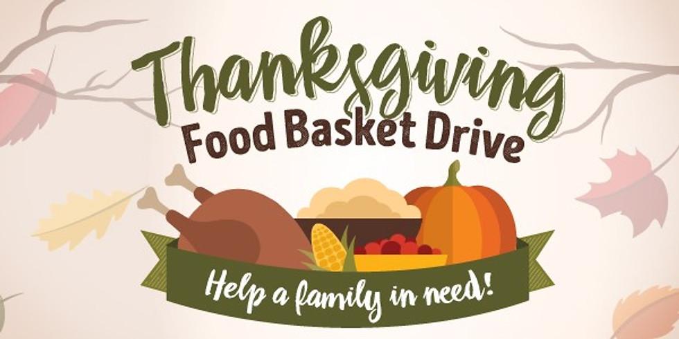 Thanksgiving Basket Drive