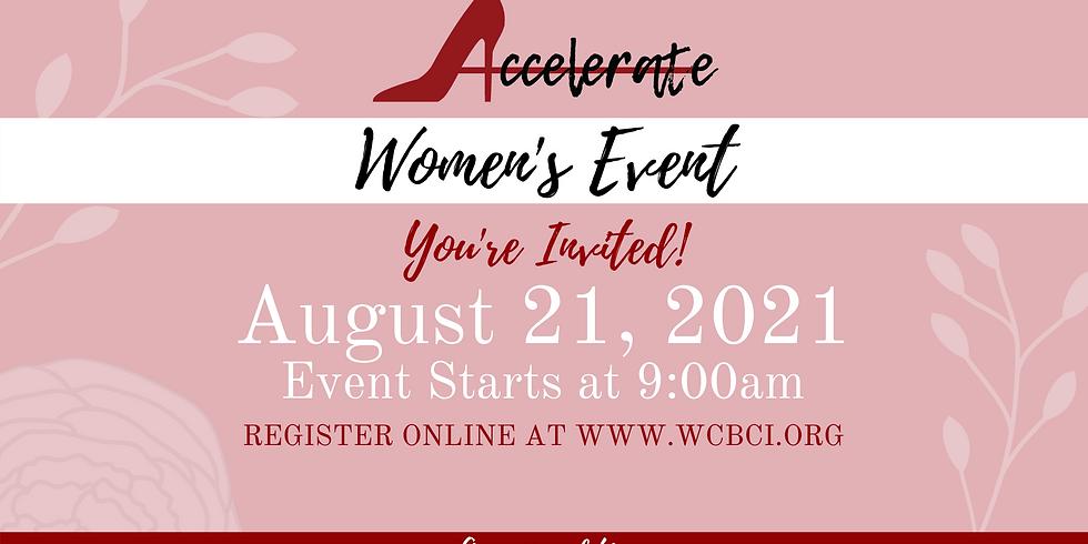 Accelerate Women's Event