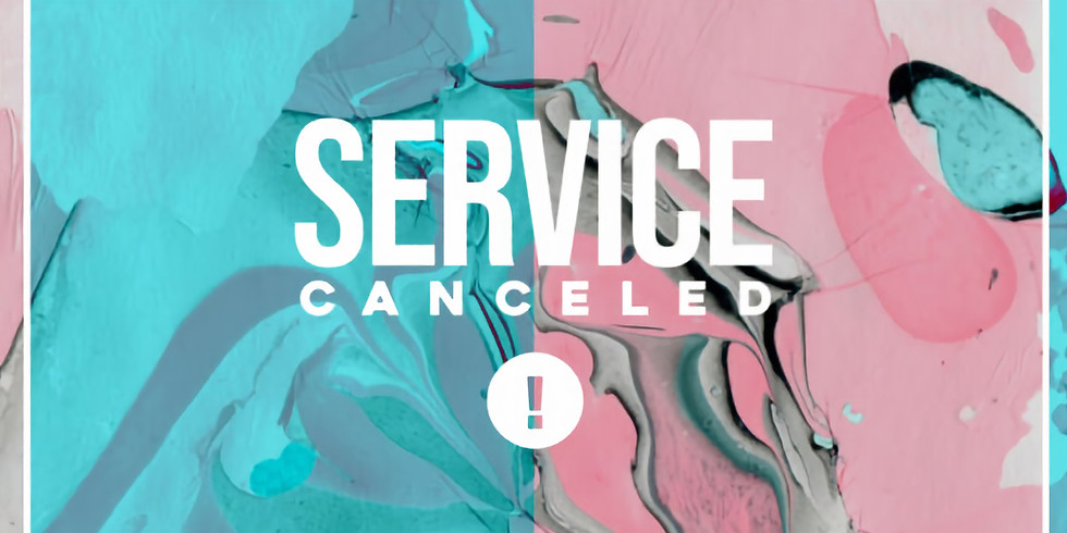 Midweek Service Canceled