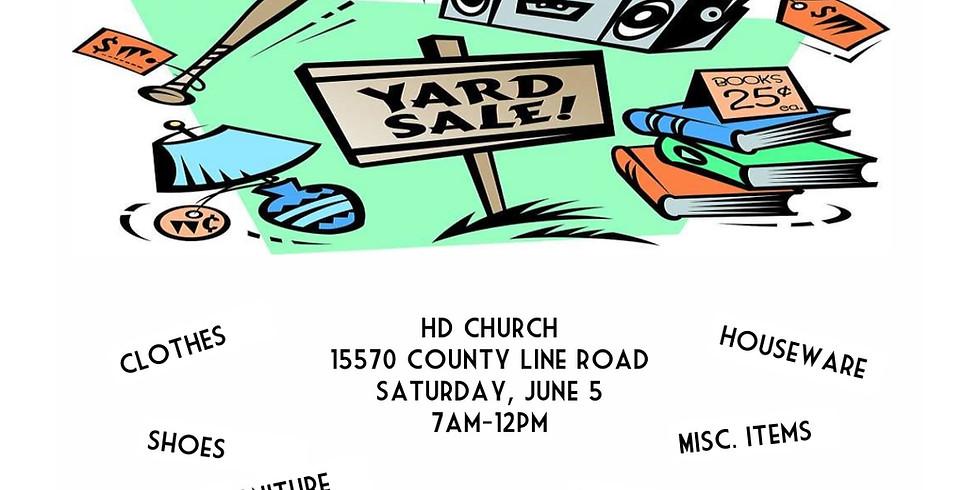 Church Yard Sale