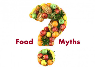 Nutrition Part Deux - Debunking Myths and Misconceptions.