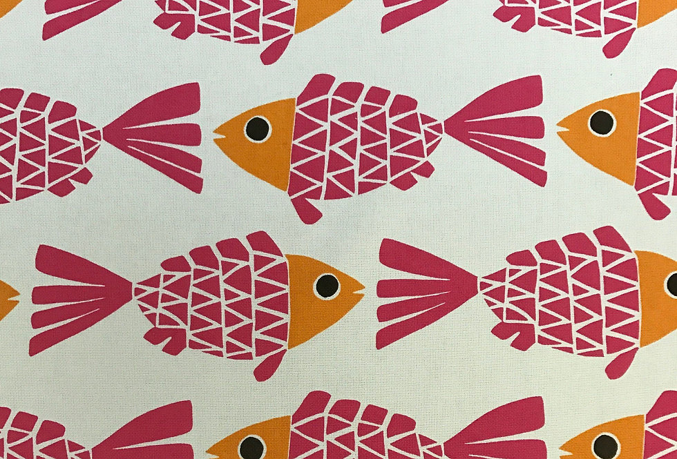 Go Fish - Pink and Orange - Melon