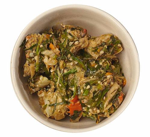 what does okra taste like?