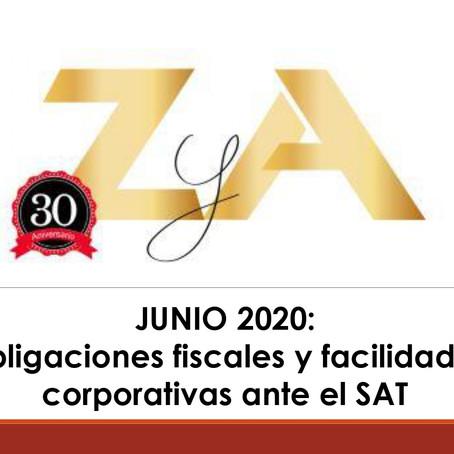 Obligaciones Fiscales y Facilidades Corporativas ante el SAT