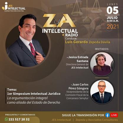 1er Simposium Intelectual Juridico