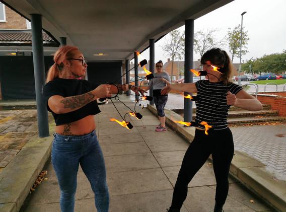 Body and Pole | Dracarys Fire WorkShop