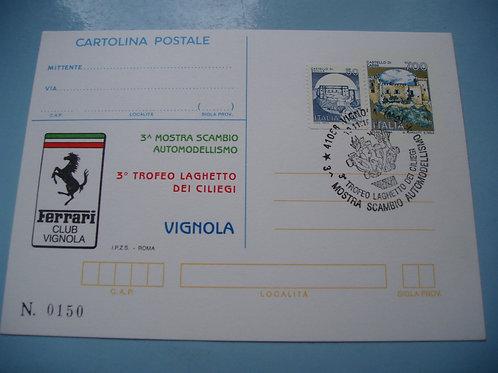 Postcard of FERRARI
