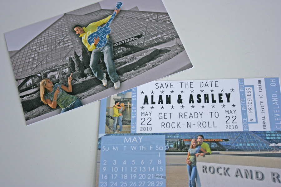 Alan & Ashley Save The Date
