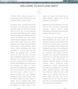 Writing Example Maitland West