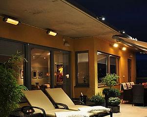 promienniki HLW ogrzewanie tarasu patio