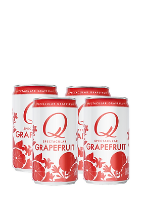 Q Mixers Grapefruit, 4 Pack