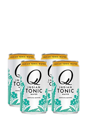 Q Mixers Indian Tonic Water, 4 Pack