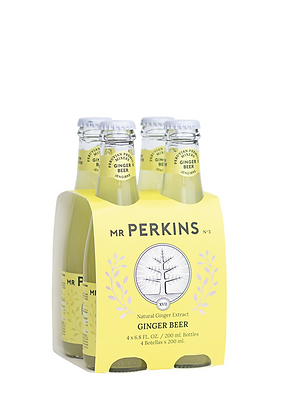 Mr. Perkins Ginger Beer, 4 Pack