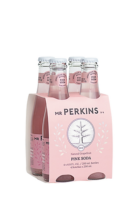 Mr. Perkins Pink Soda, 4 Pack
